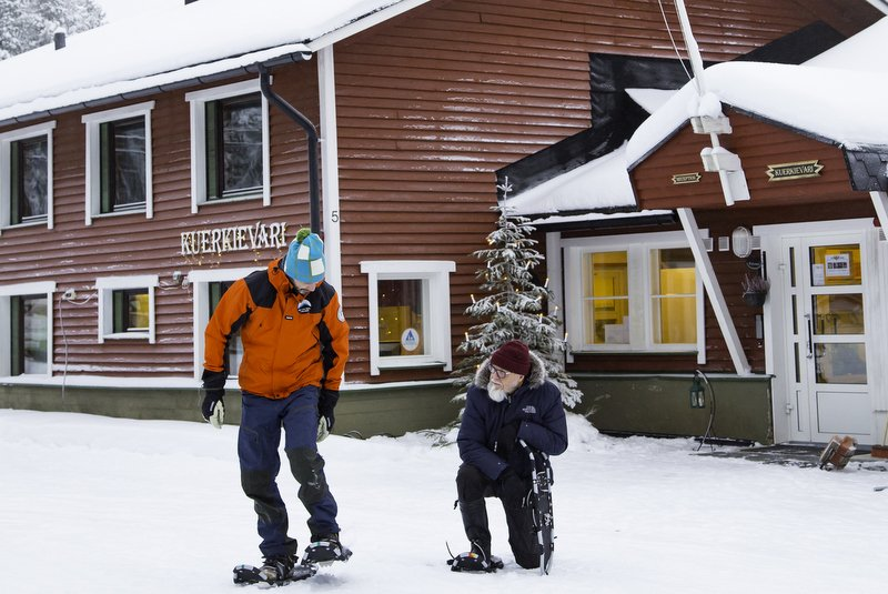 wintervakantie in Finland