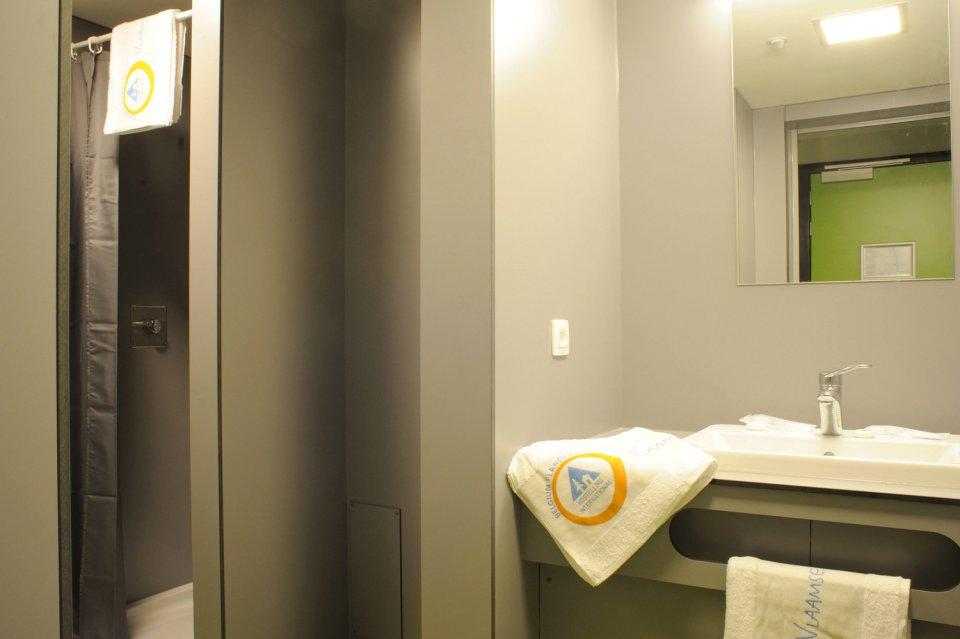 Kamer met eigen badkamer