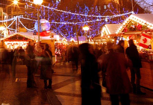 Kerstmarkt in Rijsel