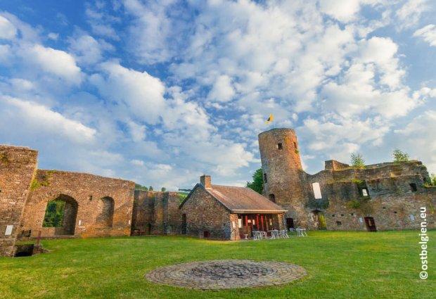 Burgruïne Burg Reuland