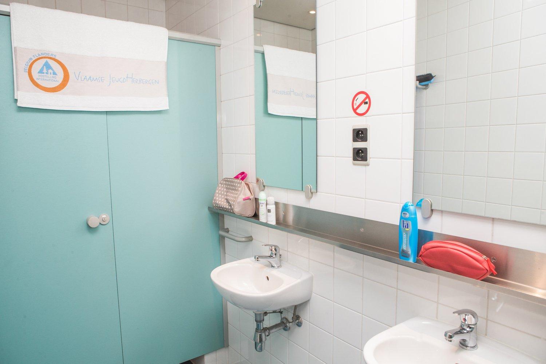 Badkamer op de kamer