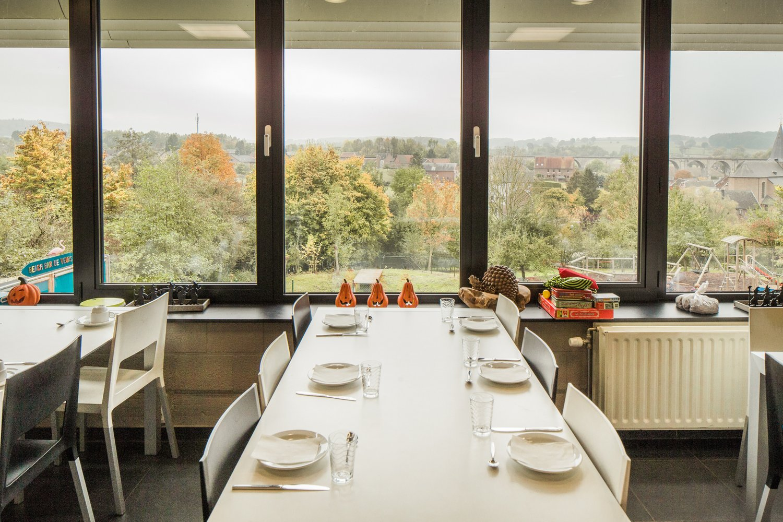 Restaurant met uitzicht
