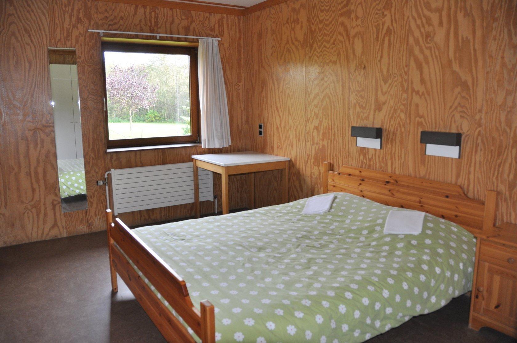 Appartement met dubbel bed