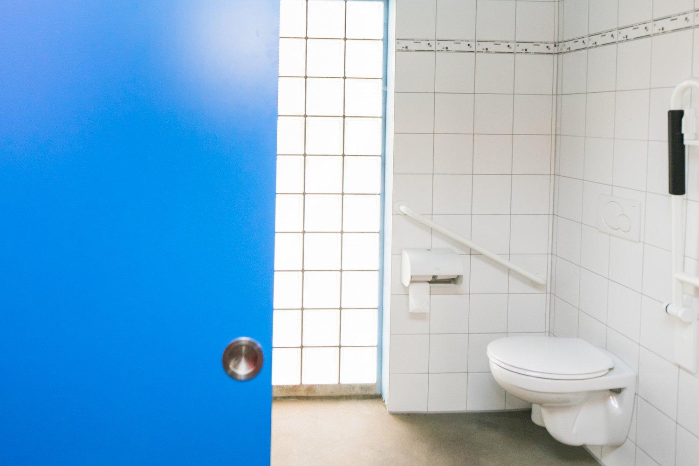 Toegankelijke badkamer