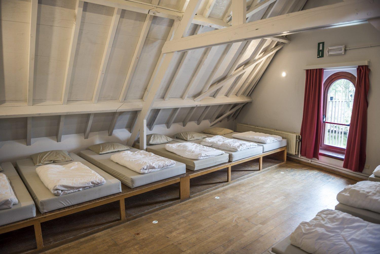 Slaapzolder voor 10 personen