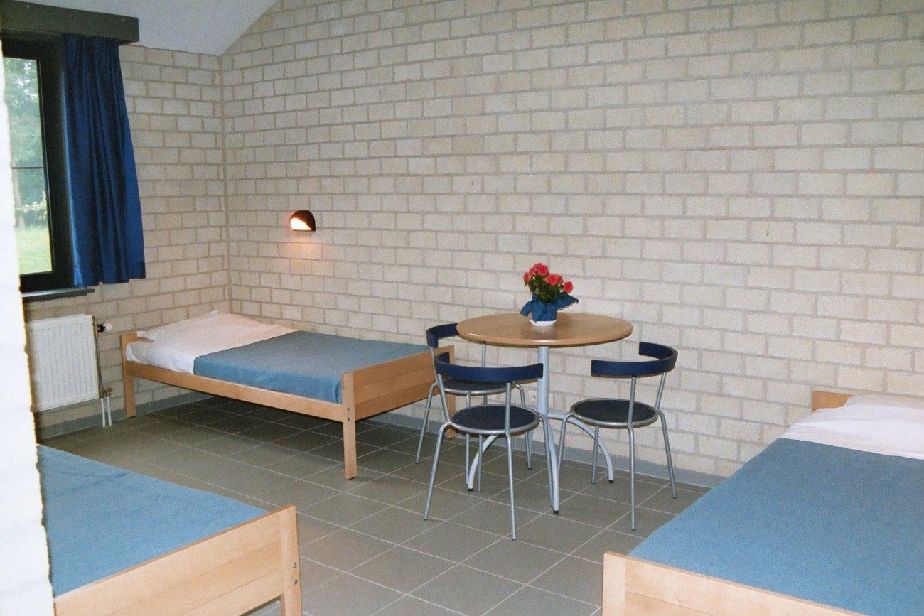 Chambre partagée avec salle de bains