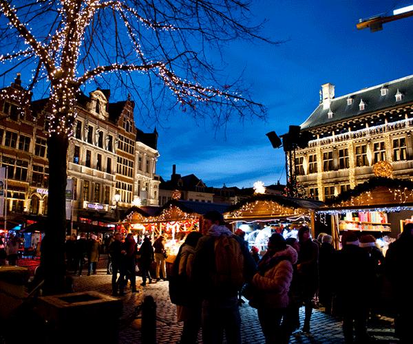 Vier oudejaar in Antwerpen