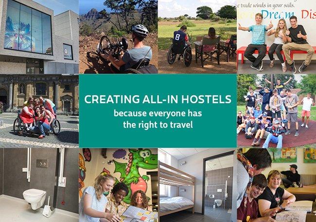 toegankelijke of inclusieve hostels