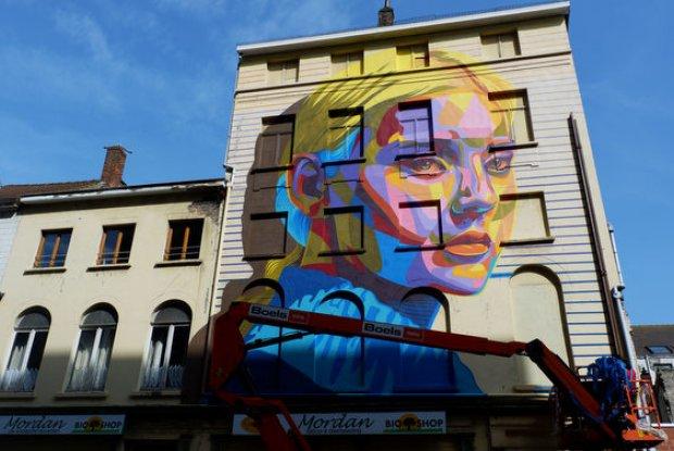 Crystal Ship Street Art Festival Oostende