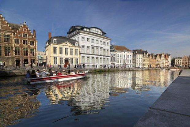 Boottochtje op de Gentse binnenwateren