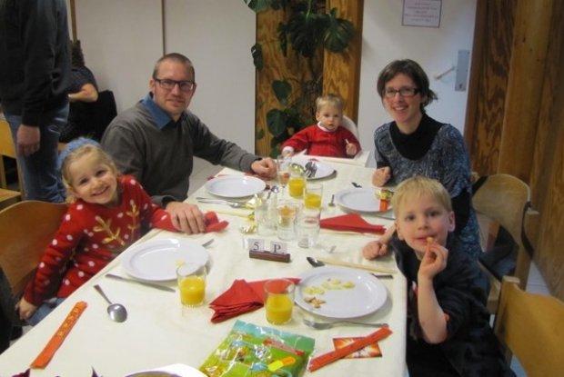 Vier eindejaar in de Ardennen